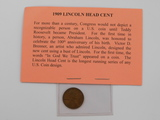 1909 FIRST YEAR ISSUE LINCOLN CENT