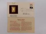 24K FIRST DAY COMMEMORATIVE STAMP