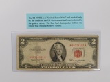OLD $2 RED SEAL BILL