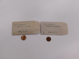 (2) KENNEDY / LINCOLN CENTS