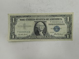 1957 SILVER CERTIFICATE - SUPER LOW SERIAL NUMBER