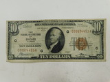 1929 CHICAGO $10 NATIONAL NOTE