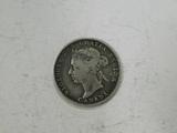 1891 CANADA 25 CENT PIECE