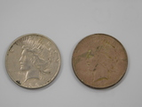 (2) 1926 SILVER PEACE DOLLARS