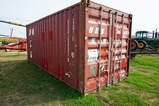 20FT STEEL SHIPPING CONTAINER