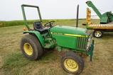 1990 JOHN DEERE 770 COMPACT DIESEL TRACTOR
