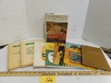 (8) MISC. JOHN DEERE BOOKS & MANUALS