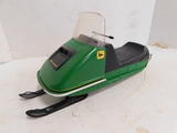 UNMARKED JOHN DEERE BATTERY OPERATED SNOWMOBILE