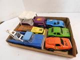 (6) MISC. VINTAGE METAL TOY CARS