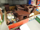 VINTAGE FORT INDEPENDENCE PLAY SET WITH BOX