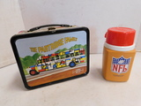 VINTAGE PARTRIDGE FAMILY LUNCHBOX W/ NFL THERMOS