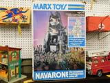 MARX TOYS NAVARONE PLAY SET