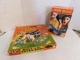 BULL IN A CHINA SHOP & LONDON BRIDGE GAMES