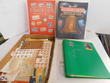 (4) STAMP ALBUMS W/ MISC. STAMPS