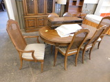 EXPERANTO TABLE W/ 6 CHAIRS & CHINA HUTCH
