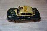 VINTAGE ELECTROMOBILE TIN POLICE CAR