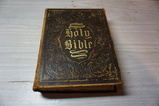 1870  ILLUSTRATED FAMILY BIBLE