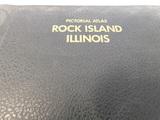 1984 ATLAS OF ROCK ISLAND COUNTY ILLINOIS