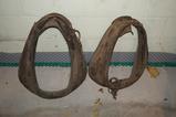 (2) VINTAGE HORSE COLLARS