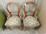 (2) MATCHING SIDE CHAIRS