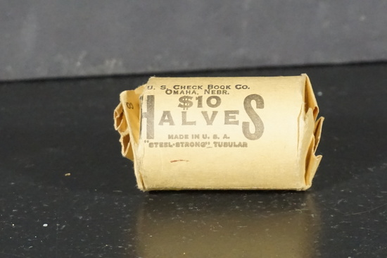 ROLL OF 1964 KENNEDY HALFS