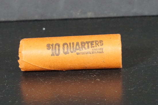 ROLL OF BICENTENNIAL UNCIRCULATED QUARTERS