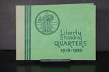 STANDING LIBERTY QUARTER ALBUM W/ COINS