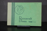 ROOSEVELT DIME ALBUM W/ COINS