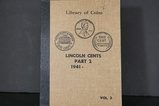 LINCOLN CENT ALBUM PART 2 W/ COINS
