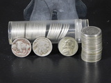 (2) PARTIAL CONTAINERS OF BUFFALO & JEFFERSON NICKELS