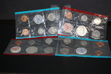 (2) 1969 UNCIRCULATED COIN SETS