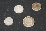 (4) ASSORTED U.S. COINS
