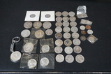 BAG OF ASSORTED 90% SILVER COINS