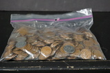 2 LBS 10 OZ. MIXED DATE WHEAT PENNIES