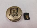 ZIPPO D-DAY COMMEMORATIVE CIGARETTE LIGHTER IN CASE