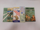 1958 & 1965 BOY SCOUT BOOKS; 1960 BSA COLORADO MAP; 1963 WORLD JAMBOREE