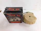 OFFICIAL BSA ALUMINUM COOK KIT IN BOX
