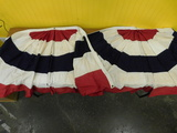 (2) EVERWARE? PORCH FLAG SKIRTS