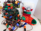 VINTAGE LARGE BULB OUTDOOR CHRISTMAS LIGHTS