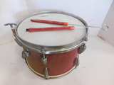 VINTAGE TORODOR - DRUM TOM W/ KEY & BRUSHES