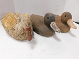 (3) VINTAGE DUCK DECOYS