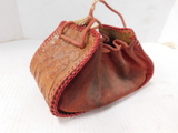 VINTAGE LEATHER & SUEDE PURSE