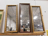 (3) LONG WALL MIRRORS
