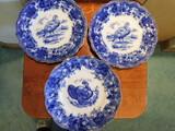 (3) FLOW BLUE 10