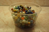 LARGE ASSORTMENT VINTAGE MARBLES