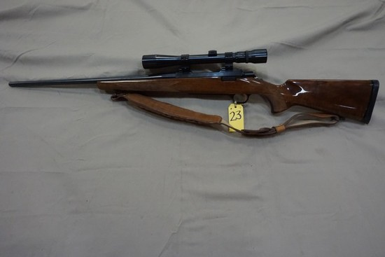 BROWNING A BOLT 25-06 REM CAL RIFLE W/ WEAVER 3-9 VARIABLE SCOPE