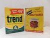UNOPENED BOX OF VINTAGE TREND LAUNDRY SOAP & CROWN FREEZ-TAINERS