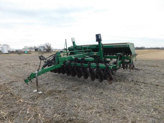 Great Plains CPH 1500 15ft No-till Grain Drill w/ CPH 1594 No-till Coulter Cart