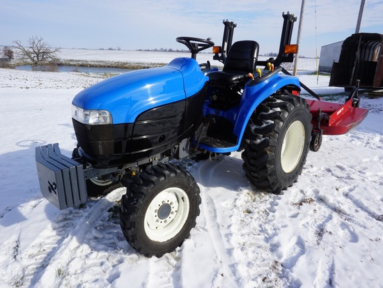 2001 NEW HOLLAND TC25 MFWD TRACTOR