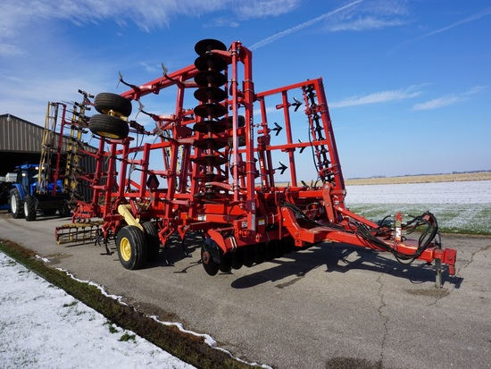 2003 KRAUSE TL6400-27 27FT ONE PASS TILLAGE TOOL
